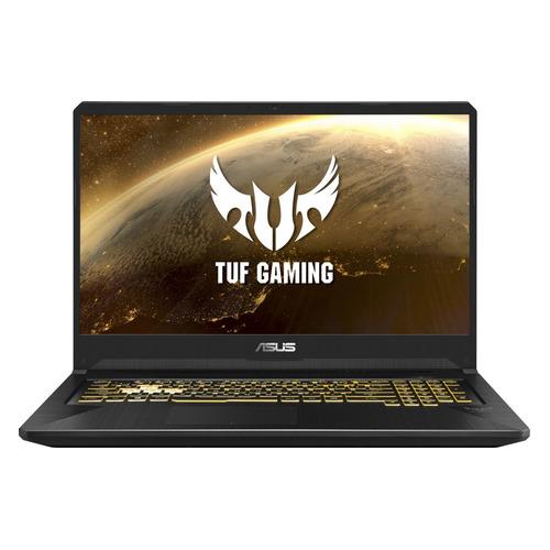 "Ноутбук ASUS TUF Gaming FX705DT-AU059, 17.3"", IPS, AMD Ryzen 7 3750H 2.3ГГц, 16Гб, 512Гб SSD, nVidia GeForce GTX 1650 - 4096 Мб, noOS, 90NR02B1-M01640, черный ноутбук asus tuf gaming fx705dd au040 17 3 ips amd ryzen 7 3750h 2 3ггц 8гб 512гб ssd nvidia geforce gtx 1050 3072 мб noos 90nr02a1 m02110 темно серый"