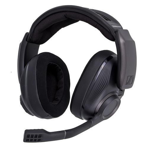 Гарнитура игровая SENNHEISER GSP 670, для компьютера, накладные, bluetooth, черный [508351] цена 2017