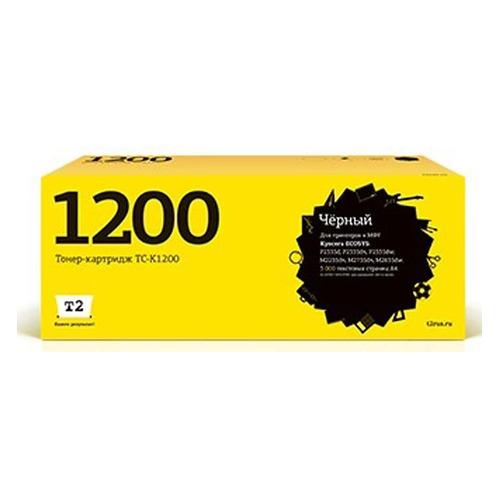 Фото - Картридж T2 TC-K1200, TC-K1200, черный блок проявки kyocera dv 1200 302vb93010 для p2335d p2335dn p2335dw m2235dn m2735dn m2835dw