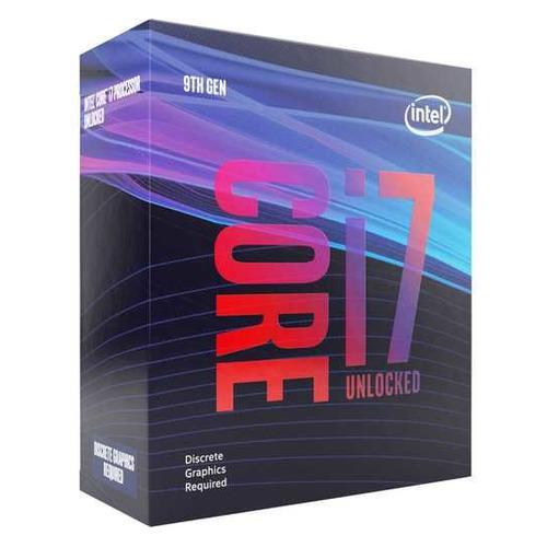 Процессор INTEL Core i7 9700KF, LGA 1151v2, BOX (без кулера) [bx80684i79700kfs rg16] процессор intel core i7 9700 lga 1151v2 box