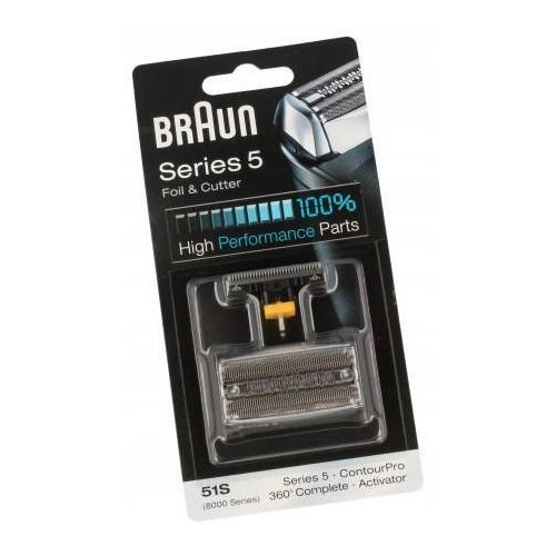 Сетка и режущий блок Braun Series5 51S [81626279]
