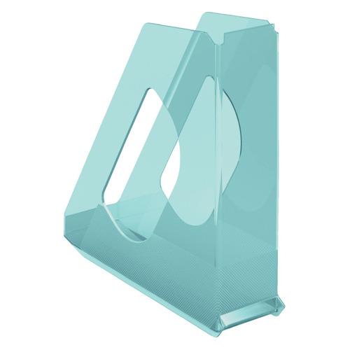 Лоток вертикальный ESSELTE Colour'Ice 72x256x260, полистирол, синий [626279]