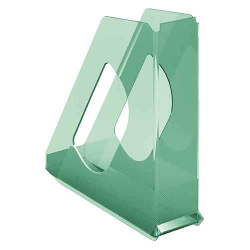 Лоток вертикальный ESSELTE Colour'Ice 72x256x260, полистирол, зеленый [626280]