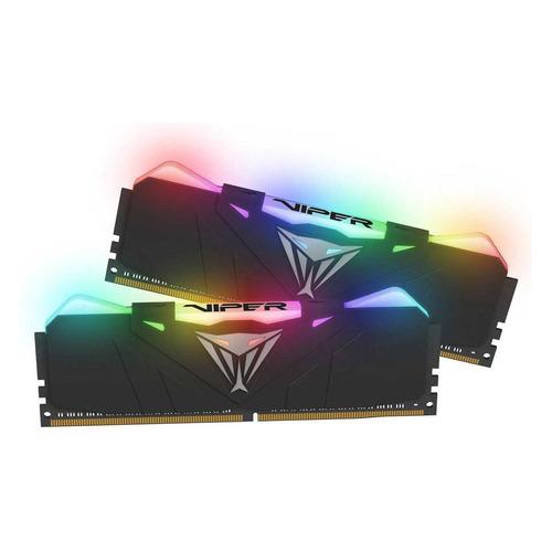 Модуль памяти PATRIOT Viper RGB PVR416G300C5K DDR4 - 2x 8Гб 3000, DIMM, Ret