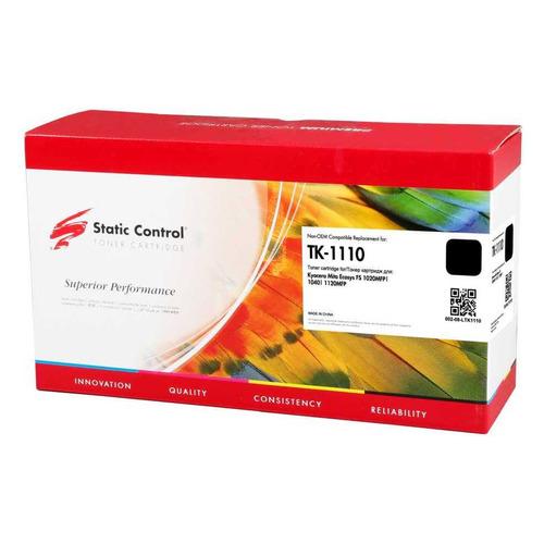 Фото - Картридж STATIC CONTROL 002-08-LTK1110, TK-1110, черный картридж nv print tk 1110 для kyocera fs 1040 1020mfp 1120mfp черный 2500стр