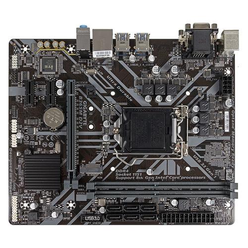 Материнская плата GIGABYTE B365M D2V, LGA 1151v2, Intel B365, mATX, Ret цена и фото