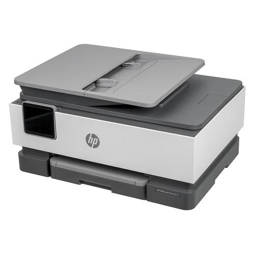 Фото - МФУ струйный HP OfficeJet 8023, A4, цветной, струйный, черный [1kr64b] принтер струйный hp officejet pro 6230 e3e03a a4 duplex wifi usb rj 45 черный