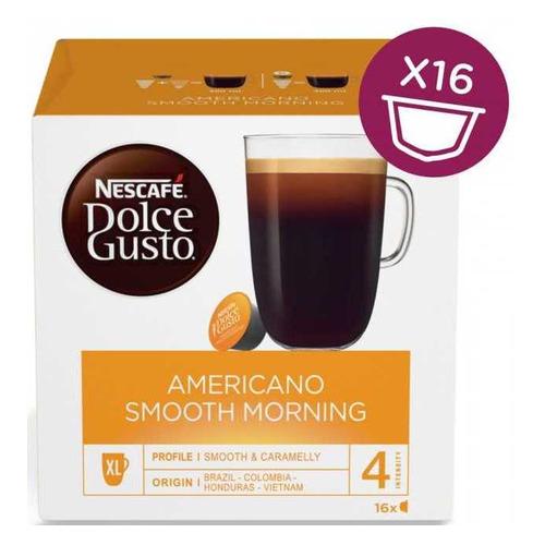 Кофе капсульный DOLCE GUSTO Americano Smooth Morning, капсулы, совместимые с кофемашинами DOLCE GUSTO® капсулы caffe tiziano bonini cappuccino compatibile dolce gusto 16шт