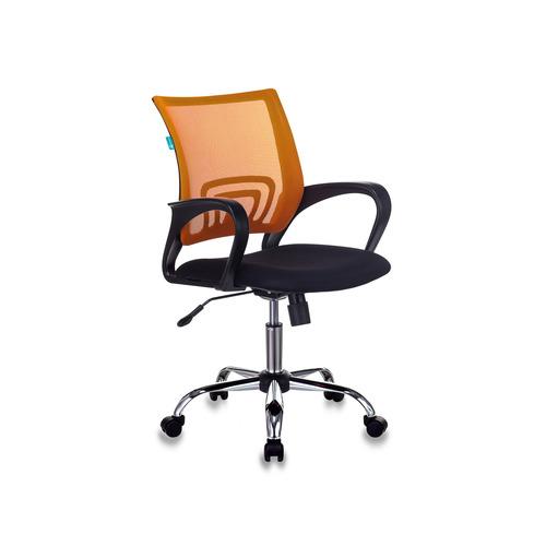 Кресло Бюрократ CH W696 R красный TW-35N сиденье красный TW-97N сетка/ткань (пластик белый) БЮРОКРАТ
