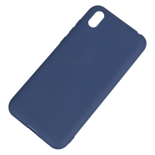 Чехол (клип-кейс) DF hwColorCase-03, для Huawei Honor 8S, синий [df hwcolorcase-03 (blue)]