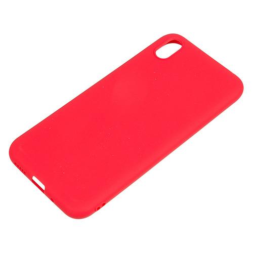 Чехол (клип-кейс) DF hwColorCase-03, для Huawei Honor 8S, красный [df hwcolorcase-03 (red)]