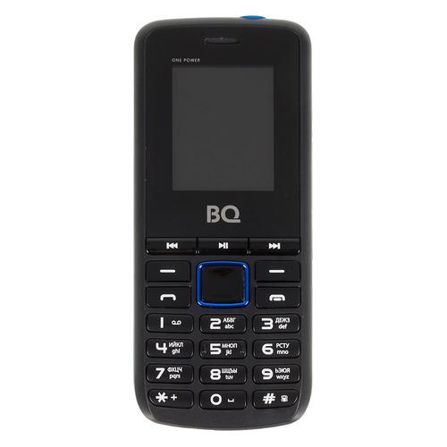 Мобильный телефон BQ One Power 1846, черный/синий цена и фото
