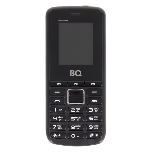 Мобильный телефон BQ One Power 1846, черный/серый цена и фото