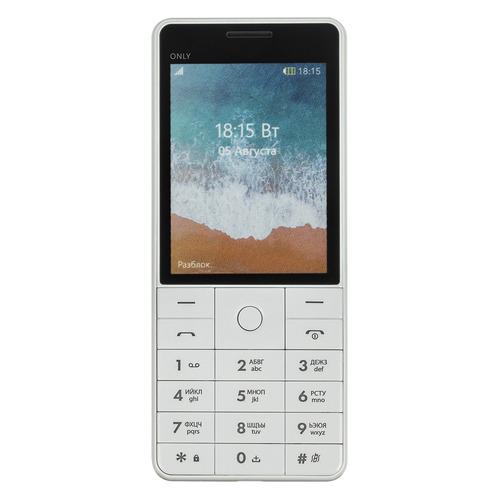 цена на Мобильный телефон BQ Only 2815, белый