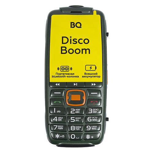 Мобильный телефон BQ Disco Boom 2825, темно-зеленый телефон bq 2825 disco boom черный
