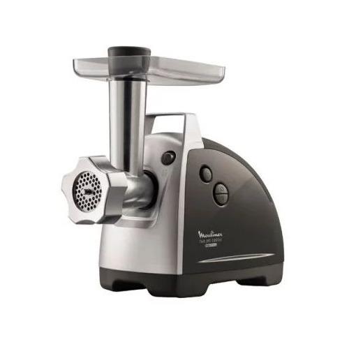 Мясорубка MOULINEX ME686832, серебристый / серый
