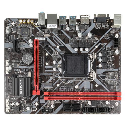 Материнская плата GIGABYTE B365M H, LGA 1151v2, Intel B365, mATX, Ret цена и фото