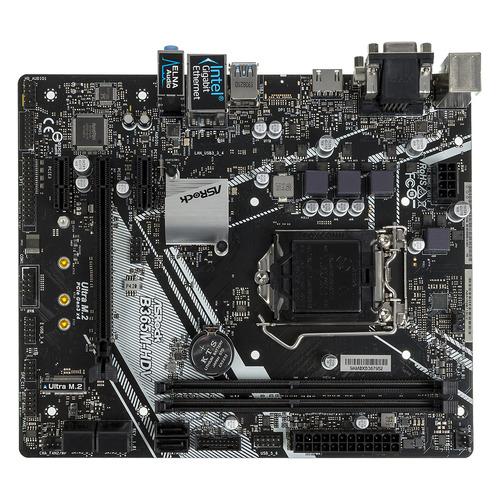 Материнская плата ASROCK B365M-HDV, LGA 1151v2, Intel B365, mATX, Ret цена 2017