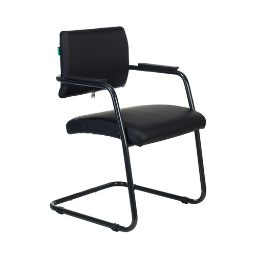 Кресло БЮРОКРАТ CH-695N-AV, на полозьях, ткань, черный [ch-695n-av/r/tw-11] БЮРОКРАТ