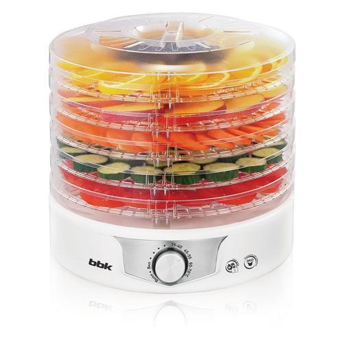 Сушилка для овощей и фруктов BBK BDH301M, белый, 5 поддонов