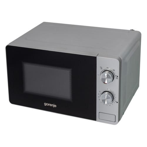 Микроволновая Печь Gorenje MO20E1S 20л. 800Вт серебристый цена и фото
