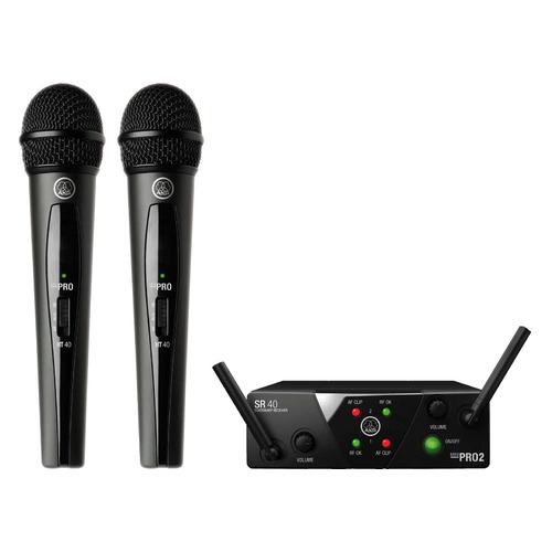 Радиосистема AKG WMS40 Mini2 Vocal Set BD US25A/C беспровод. черный