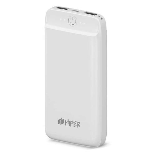 Внешний аккумулятор (Power Bank) HIPER SL20000, 20000мAч, белый аккумулятор hiper sl20000