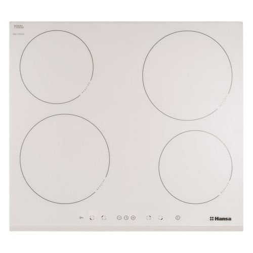 Индукционная варочная панель HANSA BHIW68077, индукционная, независимая, белый цена и фото