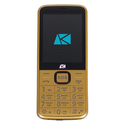 Мобильный телефон ARK Power 4 золотистый