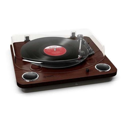 Проигрыватель винила ION Audio Max LP частично автоматический коричневый