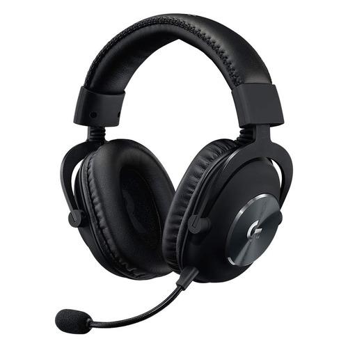 Гарнитура игровая LOGITECH Pro New, для компьютера, мониторные, черный [981-000812] гарнитура игровая logitech g533 для компьютера мониторы радио черный [981 000634]
