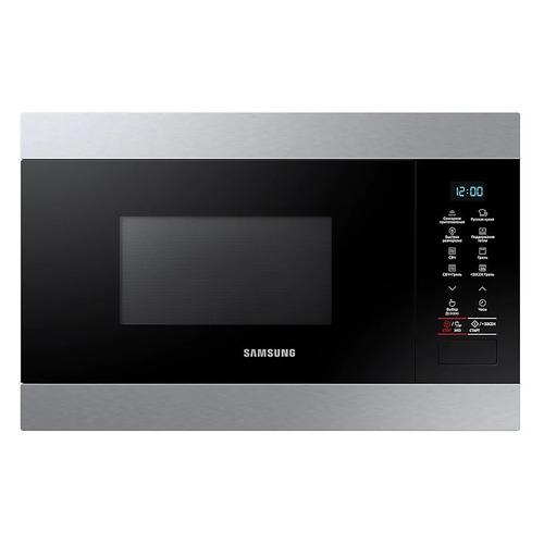 Микроволновая Печь Samsung MG22M8074AT 22л. 850Вт черный (встраиваемая) цена и фото