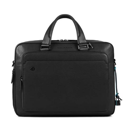 Сумка мужская Piquadro Black Square CA4027B3/N черный натур.кожа сумка для ноутбука piquadro black square ca4021b3 n черный натур кожа
