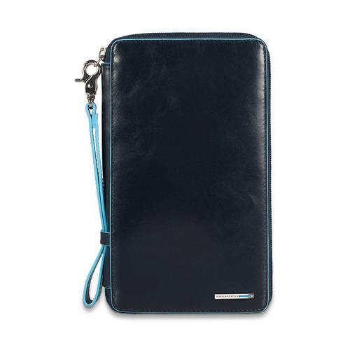 Мультипортмоне Piquadro Blue Square PP3246B2/BLU2 синий натур.кожа цена и фото