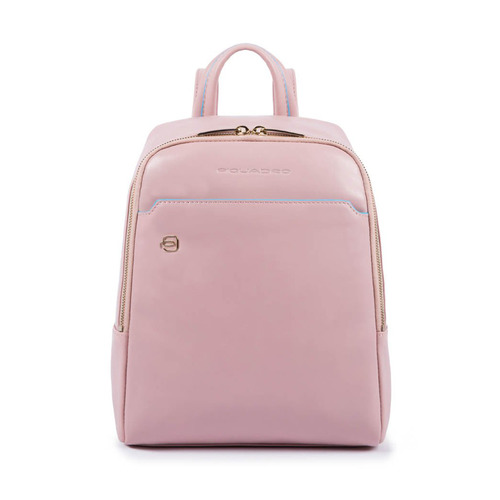 Рюкзак женский Piquadro Blue Square CA4233B2/RO3 розовый натур.кожа