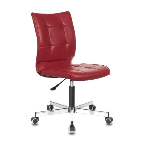 Кресло БЮРОКРАТ CH-330M, на колесиках, искусственная кожа, красный [ch-330m/red]