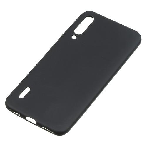 Чехол (клип-кейс) BORASCO для Xiaomi Mi A3, черный (матовый) [37353] borasco soft touch для xiaomi mi a3 черный