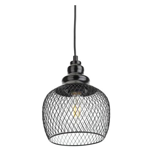 Светильник Эра PL7 BK подвесной 60Вт черный (Б0037454)
