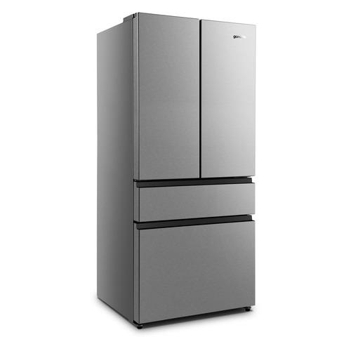 Холодильник GORENJE NRM8181UX, двухкамерный, нержавеющая сталь холодильник gorenje rk621syb4 черный двухкамерный