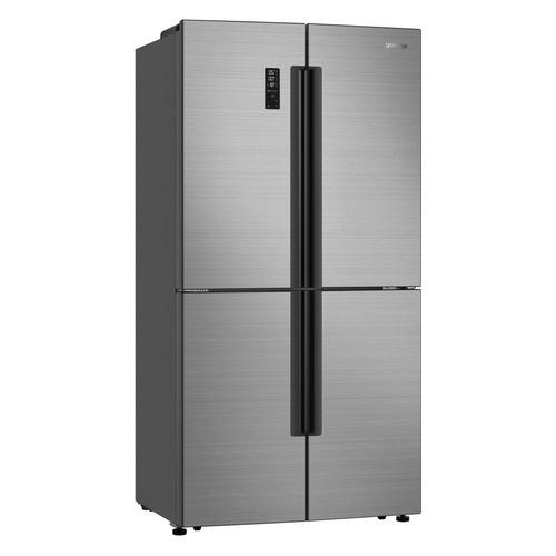 Холодильник GORENJE NRM9181UX, трехкамерный, нержавеющая сталь