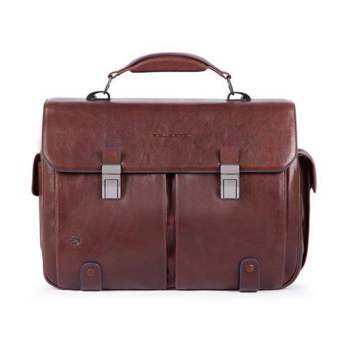 Портфель Piquadro B2S CA1068B2S/TM темно-коричневый натур.кожа цена и фото