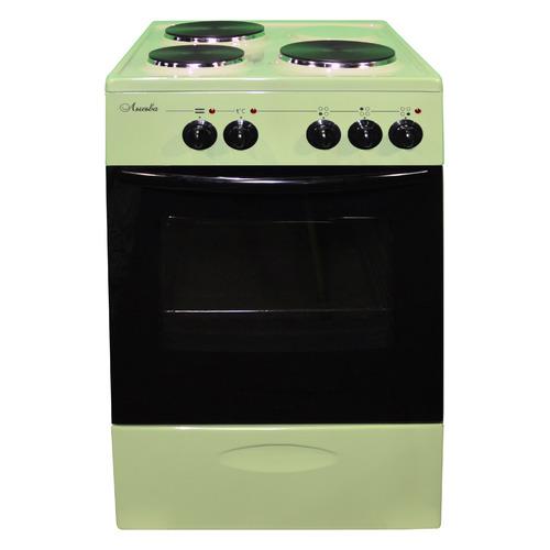 цена на Электрическая плита ЛЫСЬВА ЭП 301 МС, эмаль, без крышки, зеленый