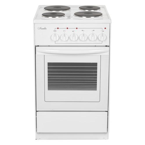 Электрическая плита ЛЫСЬВА ЭП 411 СТ, эмаль, белый