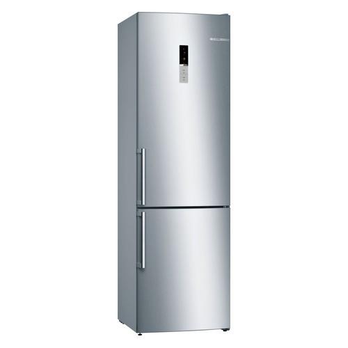 Холодильник BOSCH KGE39AL3OR, двухкамерный, нержавеющая сталь холодильник bosch kgn39xg34r двухкамерный золотистый