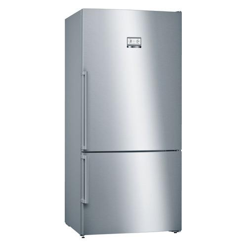 Холодильник BOSCH KGN86AI30R, двухкамерный, нержавеющая сталь холодильник bosch kgv39xl22r двухкамерный нержавеющая сталь