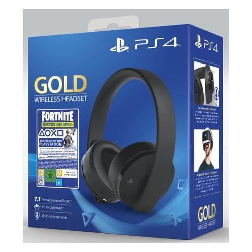 Беспроводная гарнитура PLAYSTATION PS719960201, для PlayStation 4, золотистый цена