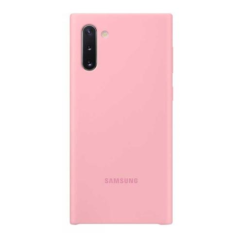 Чехол (клип-кейс) SAMSUNG Silicone Cover, для Samsung Galaxy Note 10, розовый [ef-pn970tpegru] цена в Москве и Питере
