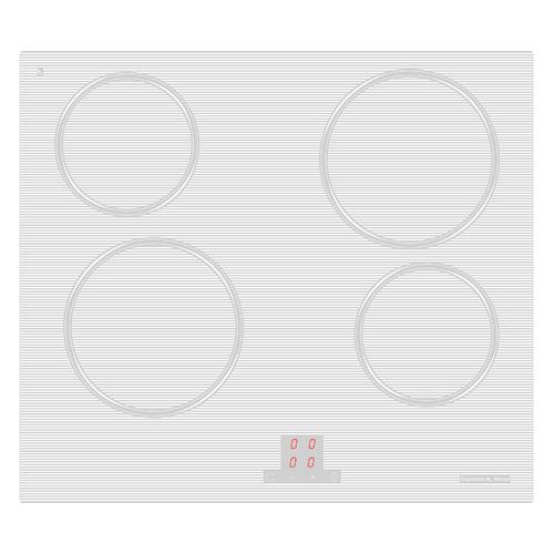 Варочная панель ZIGMUND & SHTAIN CNS 027.60, электрическая, независимая, белый