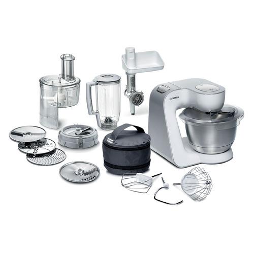 Кухонный комбайн BOSCH MUM58252RU, белый/серебристый цены онлайн