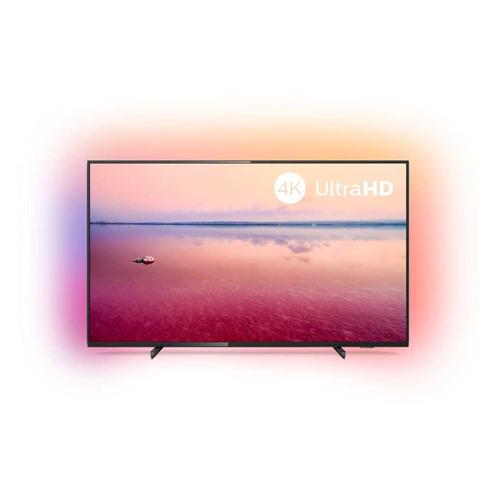 Фото - Телевизор PHILIPS 65PUS6704/60, 65, Ultra HD 4K телевизор philips 50pus6654 50 2019 серебристый металлик